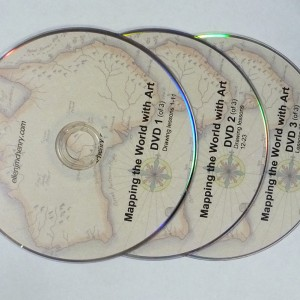 dvds for mapping the world with art