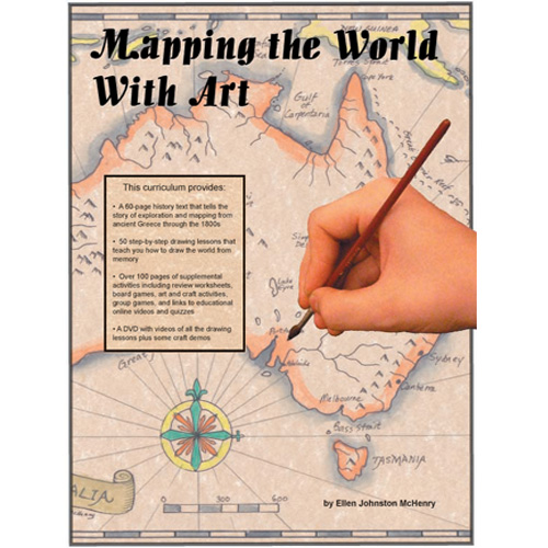 mapping the world with art paperback with cd dvds