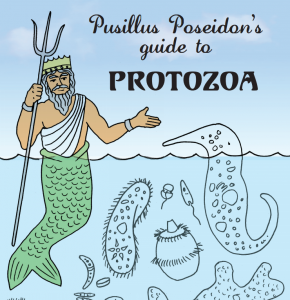 pusillus poseidons guide to protozoa reference chart - Microbiology Coloring Book