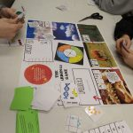 Students playing Carbon 14 Game