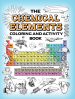 Chemical Elements Coloring and Activity Book